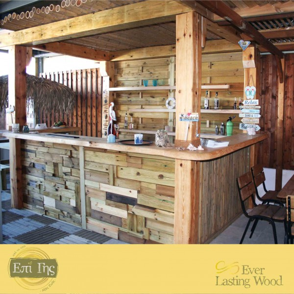 ΚΑΤΑΣΚΕΥΗ ΜΠΑΡ ΣΤΑ ΜΕΤΡΑ ΣΑΣ Ever Lasting Wood® My Bar