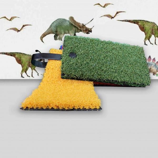 ΣΥΝΘΕΤΙΚΟΣ ΧΛΟΟΤΑΠΗΤΑΣ - ΓΚΑΖΟΝ ART GRASS CURLY - YELLOW - Πέλος 2,4εκ.