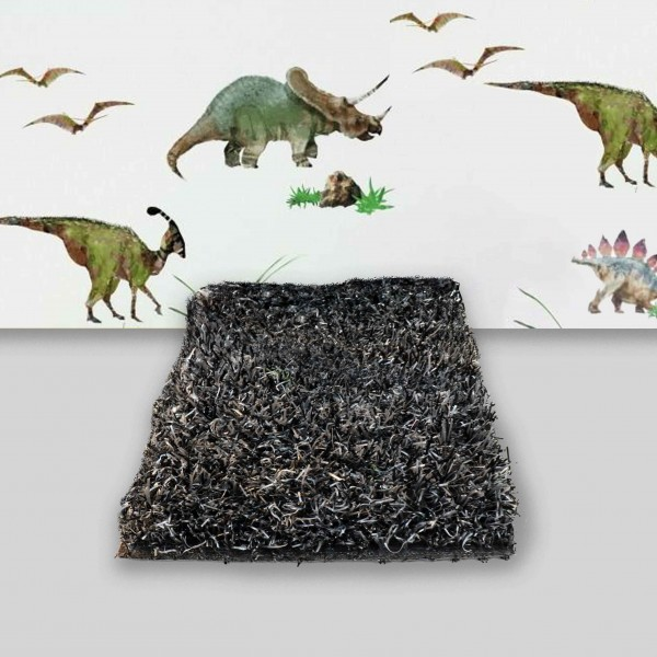 ΣΥΝΘΕΤΙΚΟΣ ΧΛΟΟΤΑΠΗΤΑΣ - ΓΚΑΖΟΝ ART GRASS TURF - OFF BLACK - Πέλος 1,8εκ.