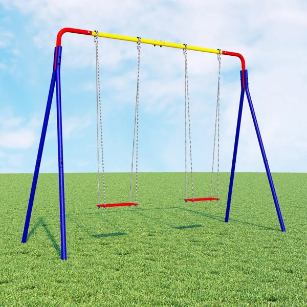 DOUBLE SWING - KIDS GARDEN GYM