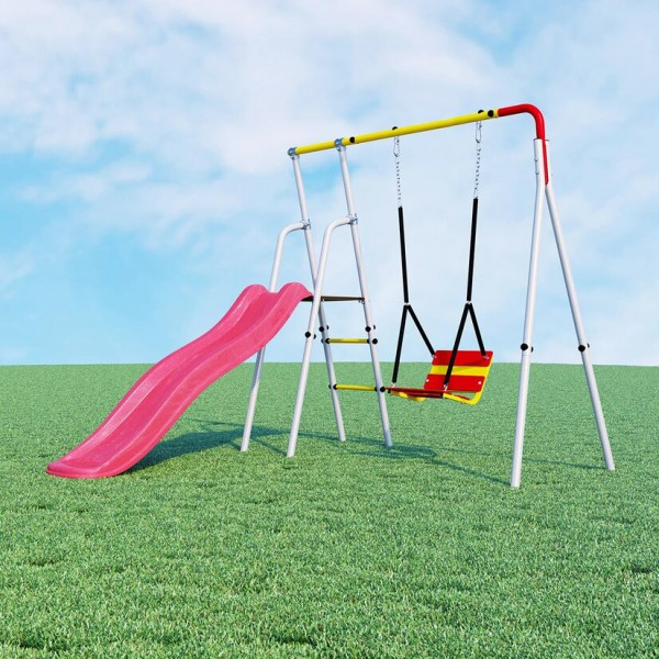 SLIDE SWING - KIDS GARDEN GYM