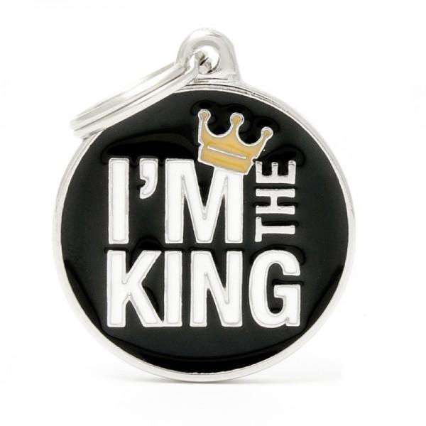 ΤΑΥΤΟΤΗΤΑ CHARMS I'M THE KING BLACK ONESIZE