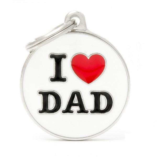 ΤΑΥΤΟΤΗΤΑ CHARMS I LOVE YOU DAD ONESIZE