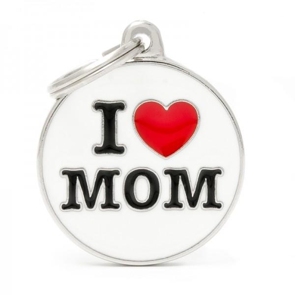 ΤΑΥΤΟΤΗΤΑ CHARMS I LOVE YOU MOM ONESIZE