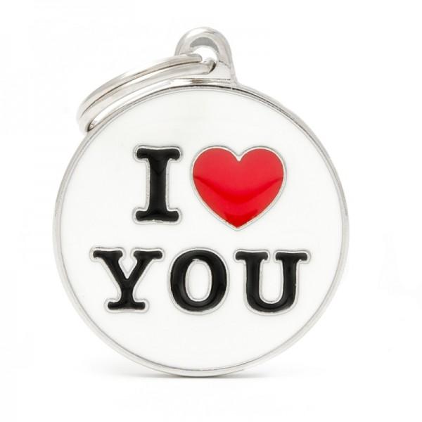 ΤΑΥΤΟΤΗΤΑ CHARMS LOVE YOU
